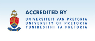 Accredited by the University of Pretoria